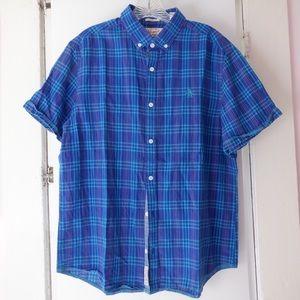 Penguin blue shirt size L